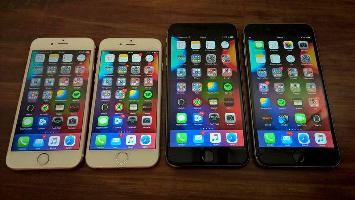 Pretty in Pink: Die neuen iPhones im Test
