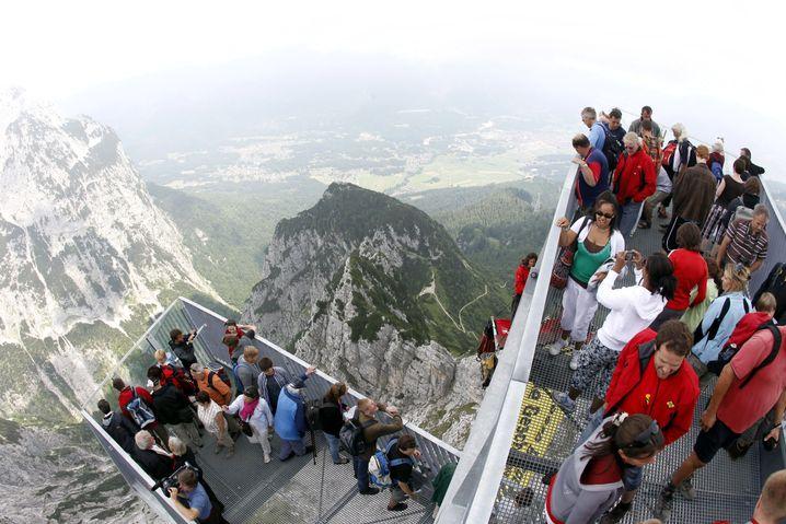 Alpspix: Tausend Meter über dem Abgrund