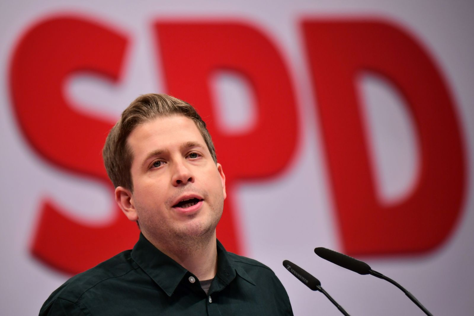 SPD party convention in Berlin, Germany - 06 Dec 2019