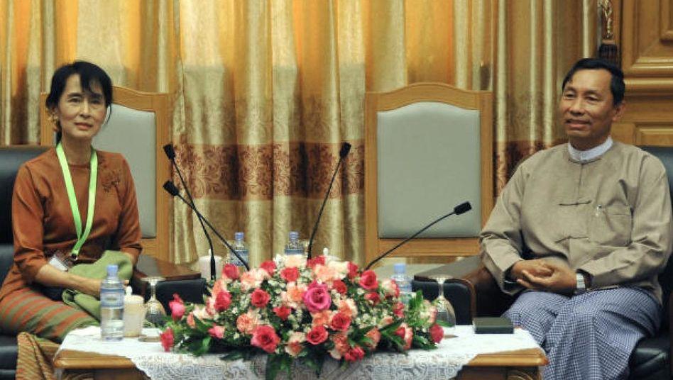 Suu Kyi, Shwe Mann