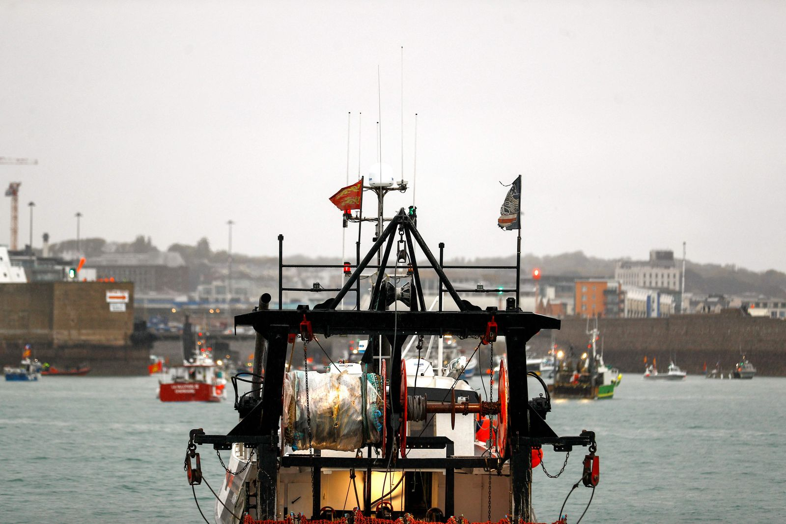 FRANCE-BRITAIN-EU-BREXIT-PROTEST-FISHING