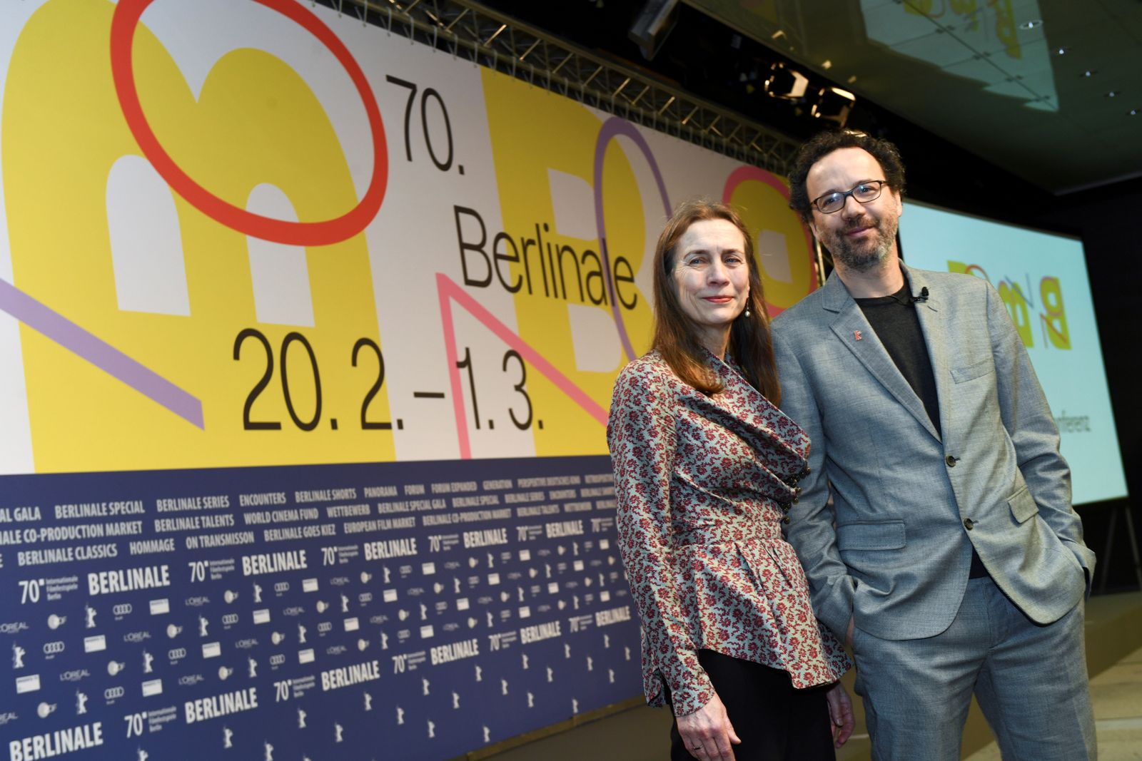 News conference ahead of the 70th Berlin Film Festival in Berlin