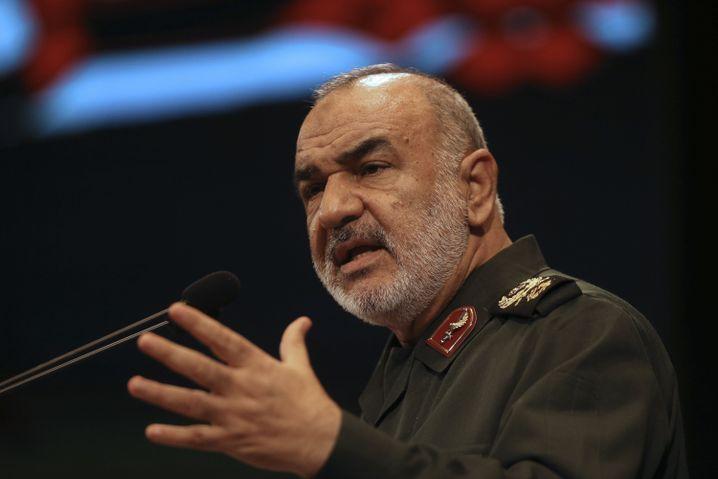 """Revolutionswächter Salami """"Wir werden auf Aggression reagieren"""""""