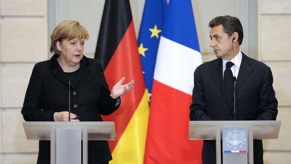 "Merkel und Sarkozy: ""Politik à la Bismarck"""