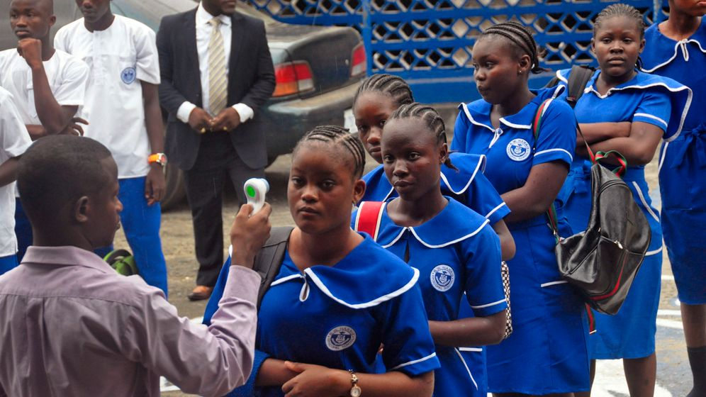 Ebola-Land Liberia: Unterrichtsbeginn nach einem halben Jahr Zwangspause