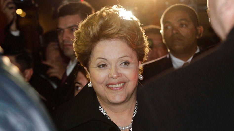 Präsidentin Rousseff: Ihre Unterschrift fehlt noch