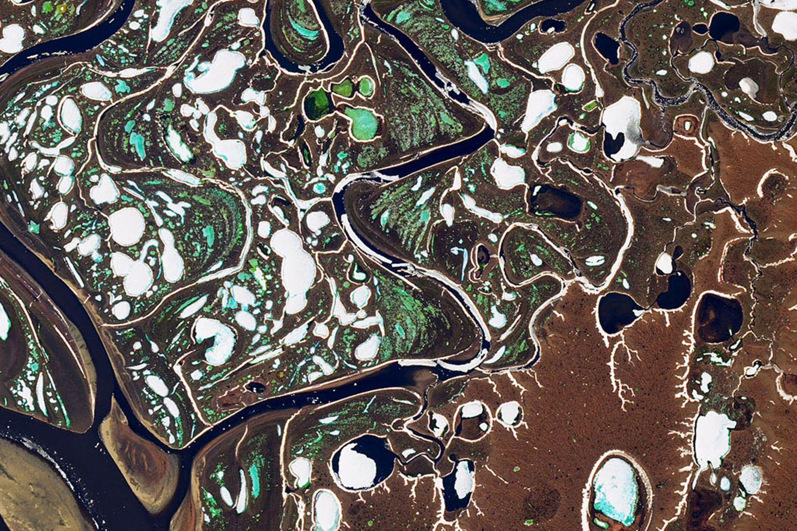Eisschmelze/ Flüsse