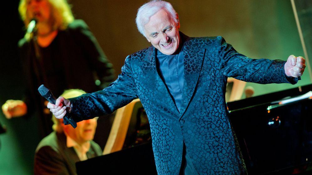 Charles Aznavour: Kleiner Mann mit großer Stimme