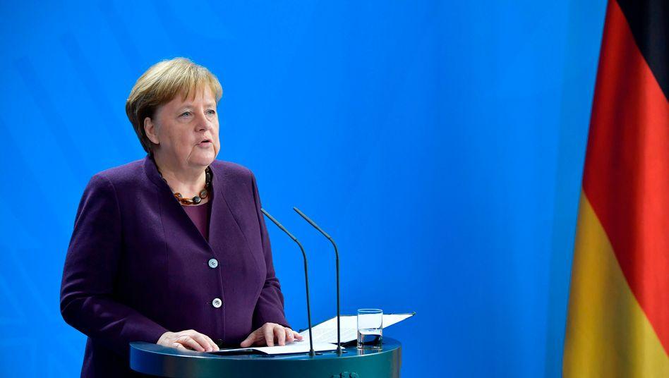 """Merkel zum Anschlag von Hanau: """"Rassismus ist ein Gift, Hass ist ein Gift"""""""