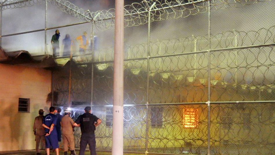 Gefängnisrevolte in Brasilien: Nach einem Tag beendeten die Häftlinge den Aufstand