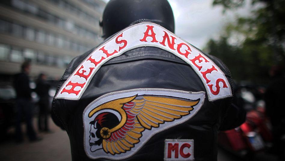 Mitglied der Rockergruppe Hells Angels (Archiv): Interner Konflikt