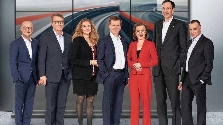 Fünf zu zwei: Im Vorstand der Deutschen Bahn dominieren die Männer