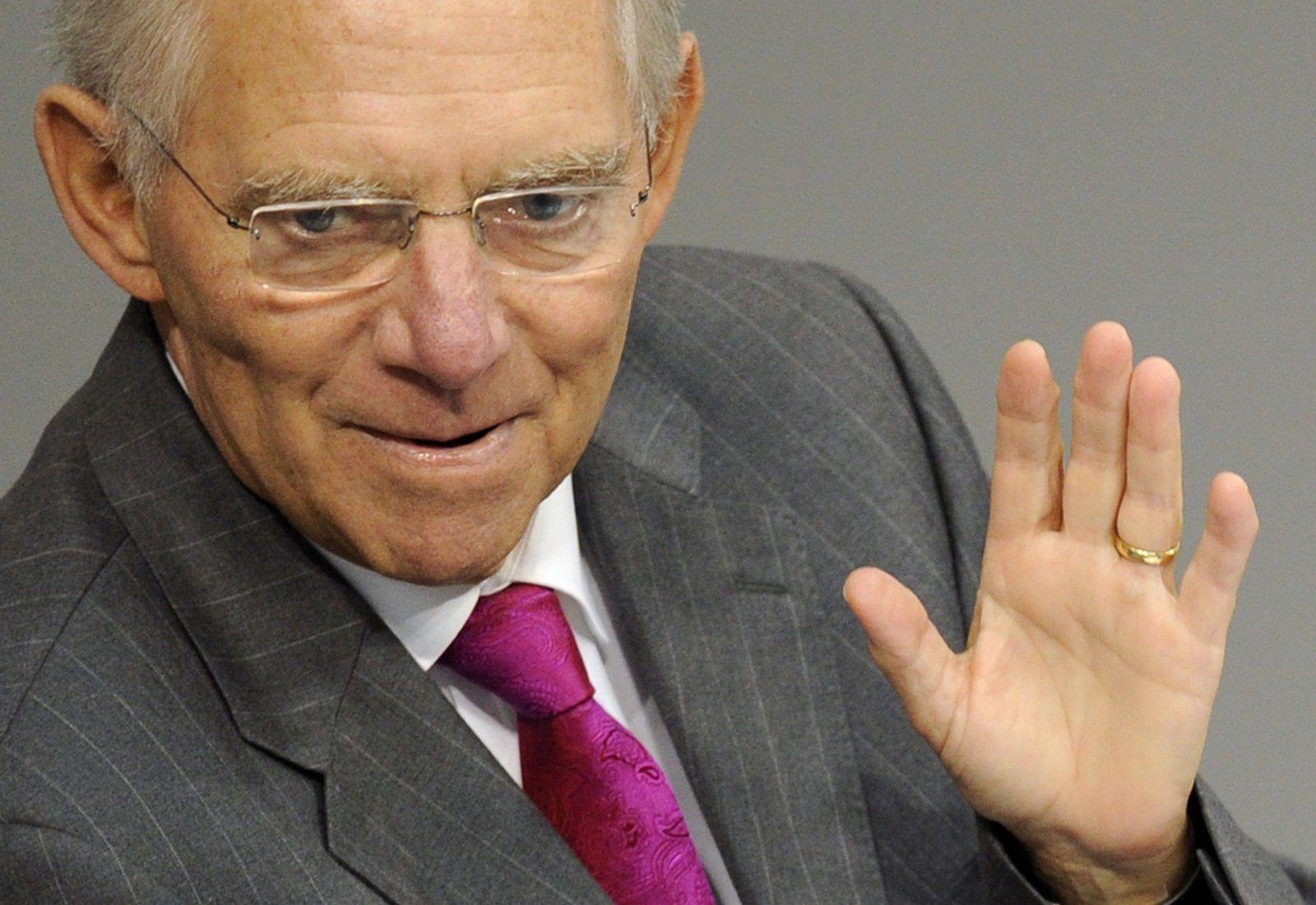 GERMANY-POLITICS-PARLIAMENT-BUDGET-SCHAUEBLE
