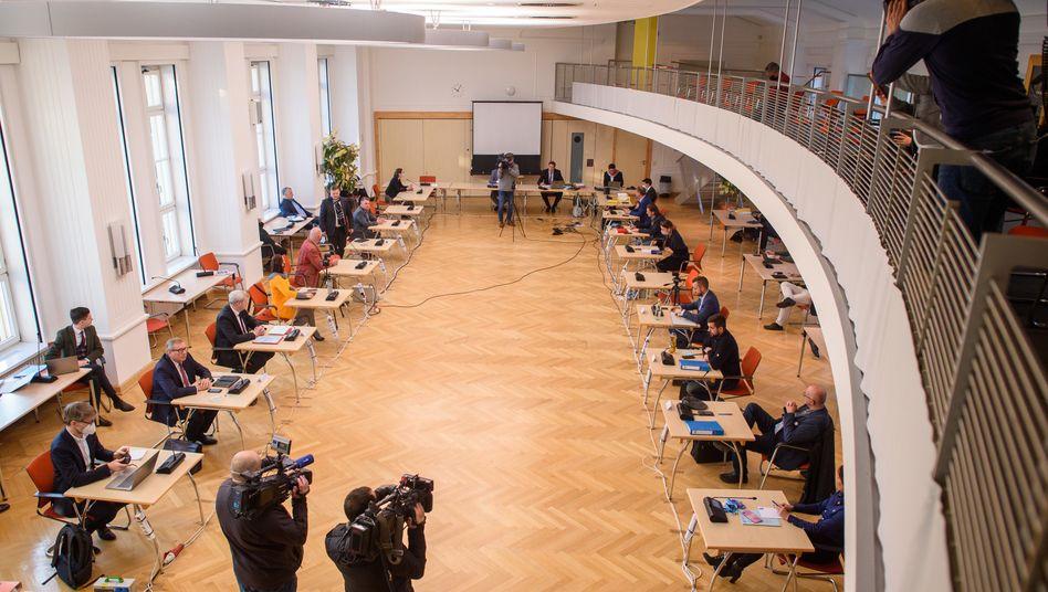 Der Medienausschuss im Magdeburger Landtag
