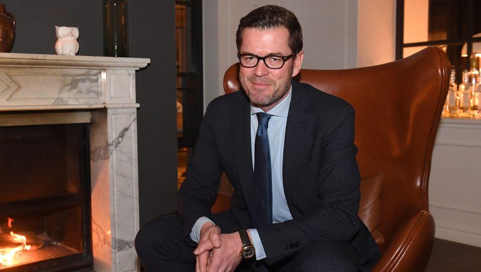 """Ex-Minister Guttenberg:""""Wir waren uns einig"""""""