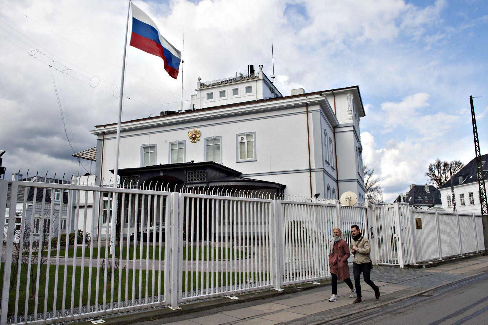 russische Botschaft/ Kopenhagen