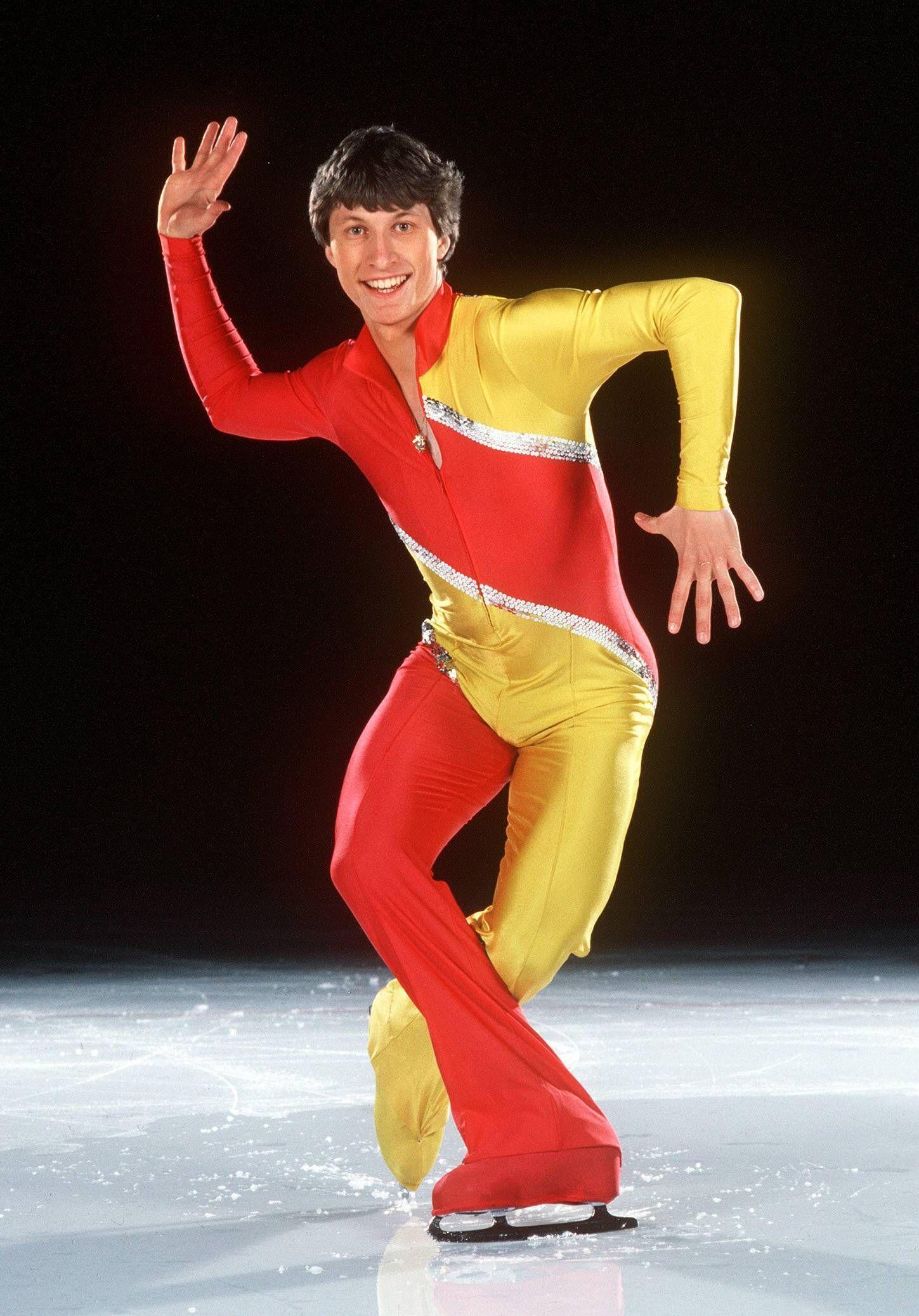 Norbert Schramm (BR Deutschland) auf dem Eis