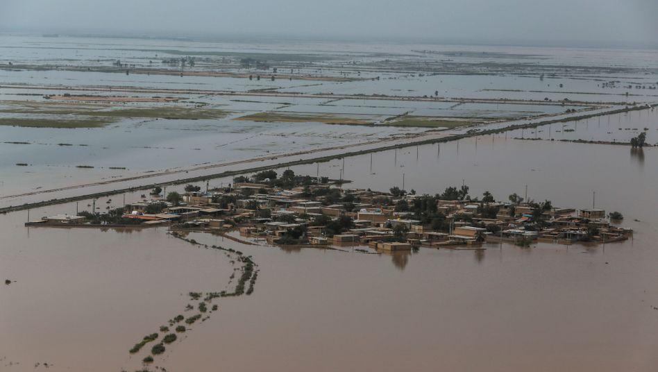 Überschwemmungen in der iranischen Provinz Khuzestan
