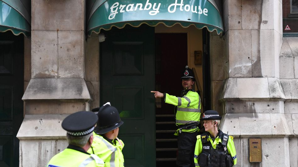 Polizei-Einsatz in Manchester