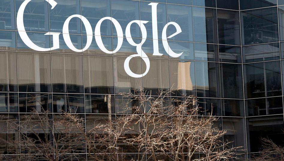 Google-Zentrale in Kalifornien: Die Regierung in Washington und elf Bundesstaaten klagen
