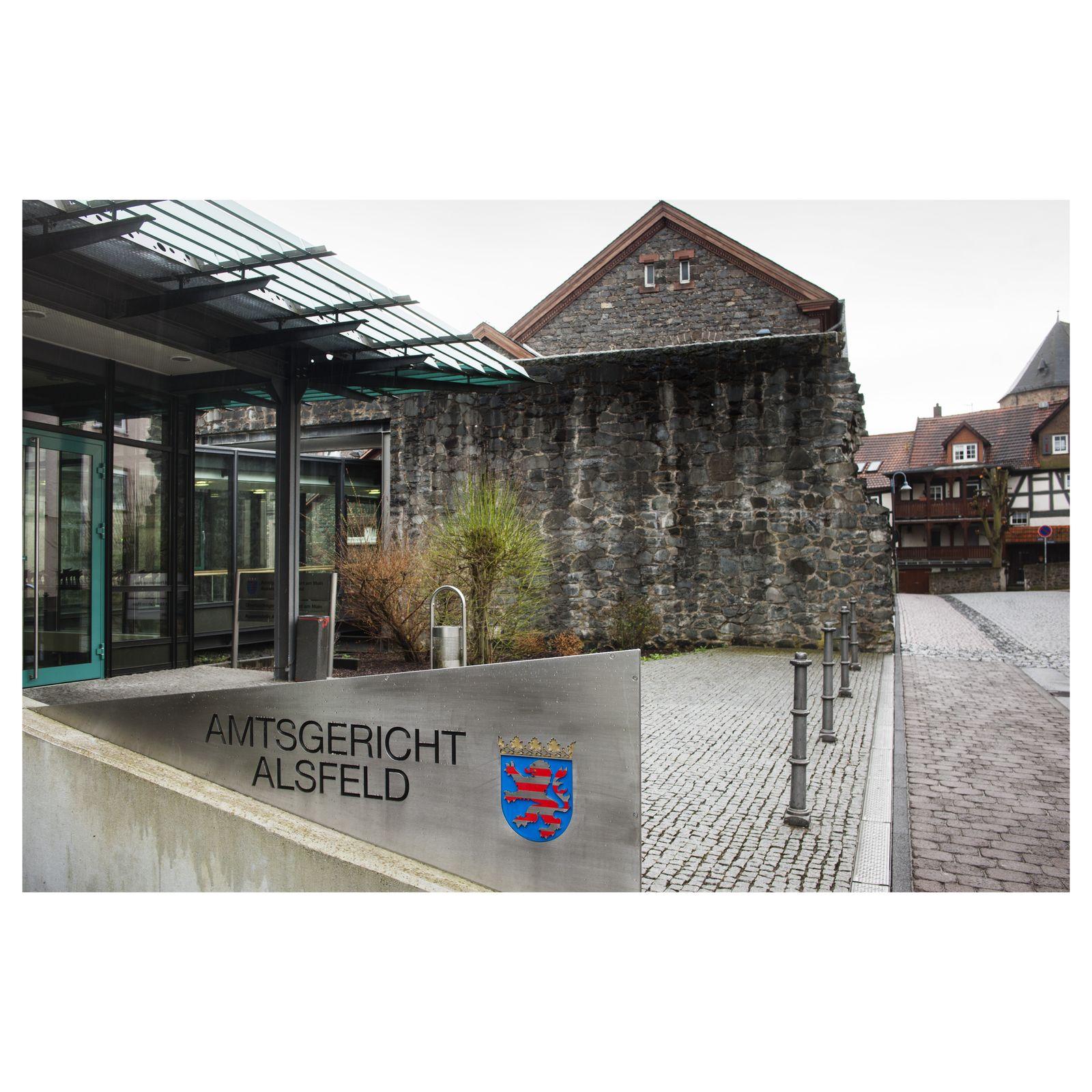 EINMALIGE VERWENDUNG Prozess/ / Marie Luise Christina Stoeppler/ Amtsgericht Alsfeld