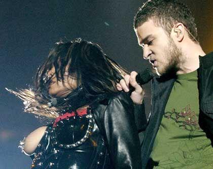 """Popstars Jackson, Timberlake beim Super-Bowl-Eklat: """"Ein schamloser Stunt"""""""
