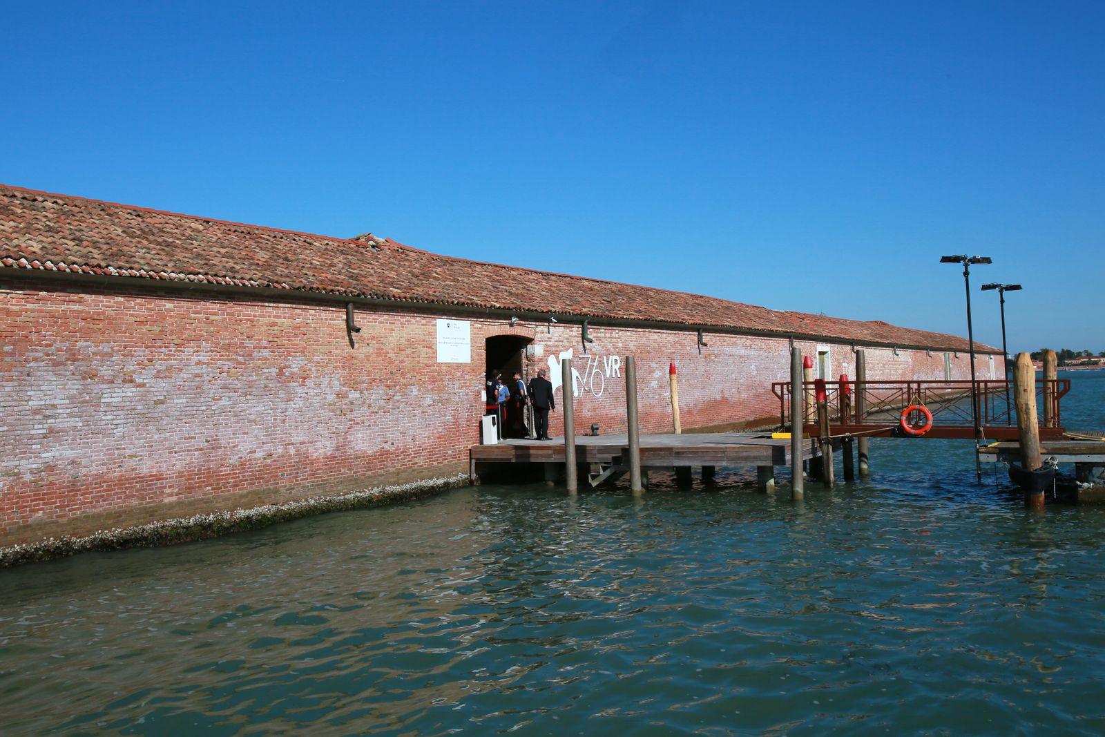 Venice Virtual Reality At Lazzaretto Vecchio Island - The 76th Venice Film Festival