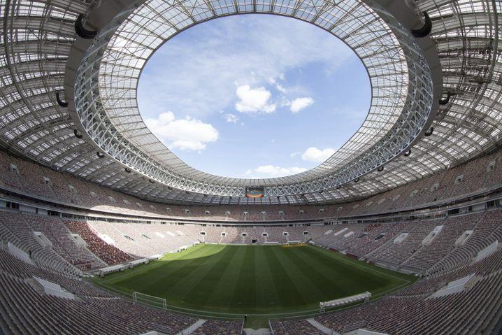 Luschniki-Stadion. Moskau