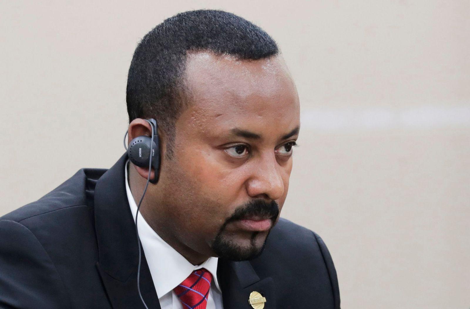 Abiy Ahmed Äthiopien Russland