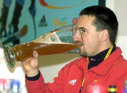 "Georg Hackl 2002 in Salt Lake City: ""Olympia ist das Großartigste"""