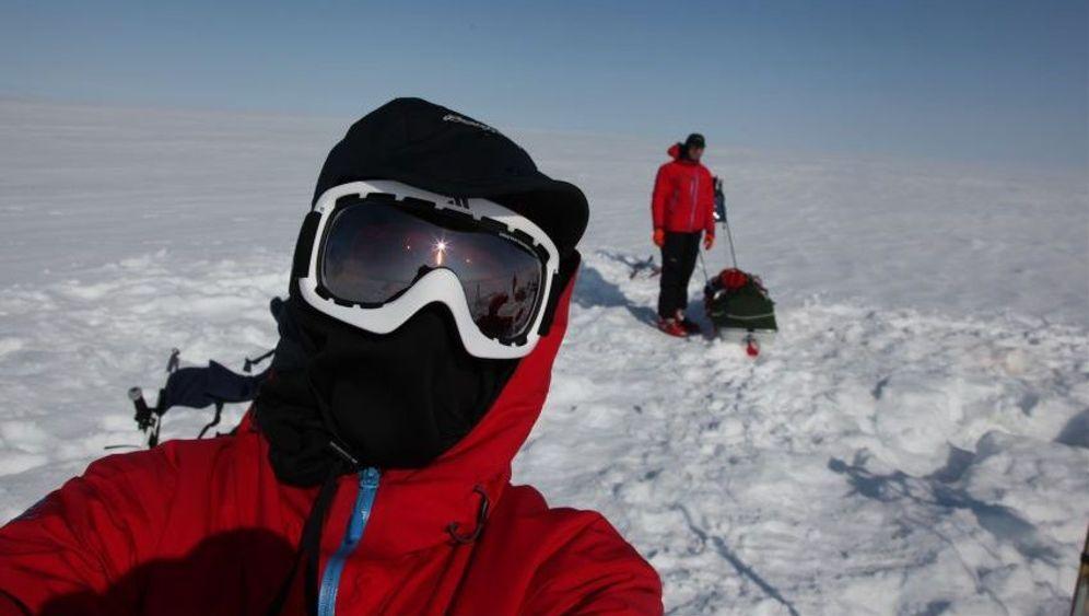Expedition im Grönlandeis: Gewaltmarsch im Zickzack
