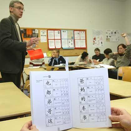 Chinesisch-Unterricht: In Münster kann man Mandarin als Abiturfach wählen