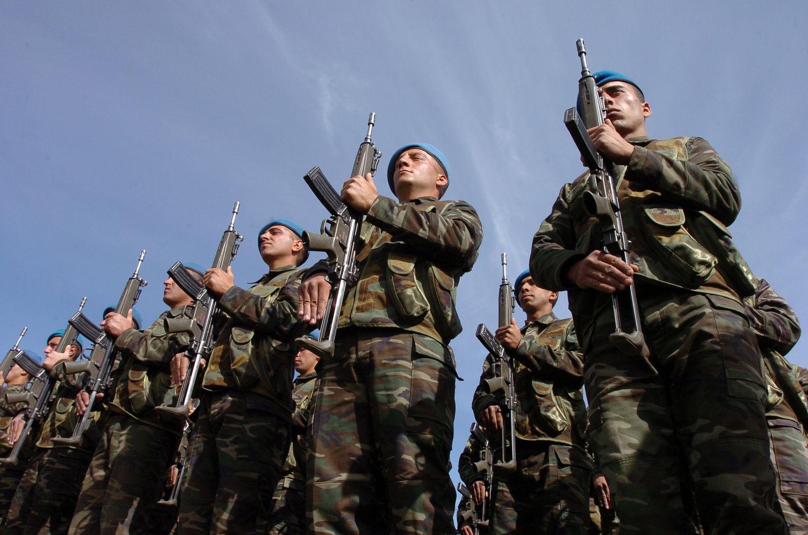Türkisches Militär/Militärparade