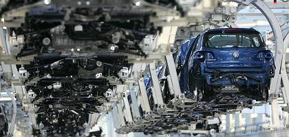 VW-Produktion in Wolfsburg: Strohfeuer durch Abwrackprämie