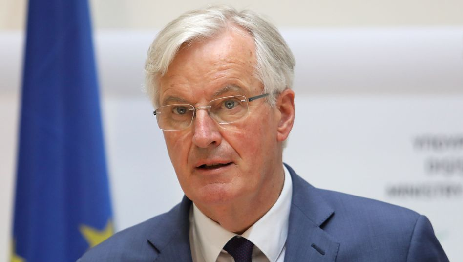 Michel Barnier, Unterhändler der EU für den Brexit