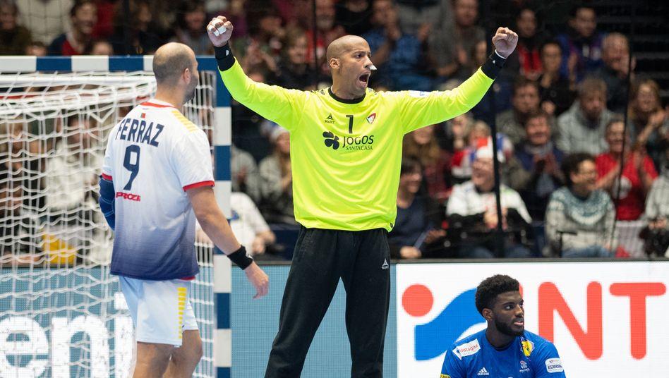 Alfredo Quintana bei der Handball-WM 2020 in Norwegen