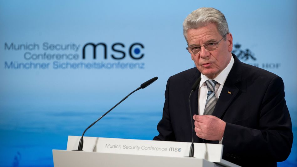 Präsident Gauck bei Sicherheitskonferenz: Deutschlands neue Rolle in der Welt