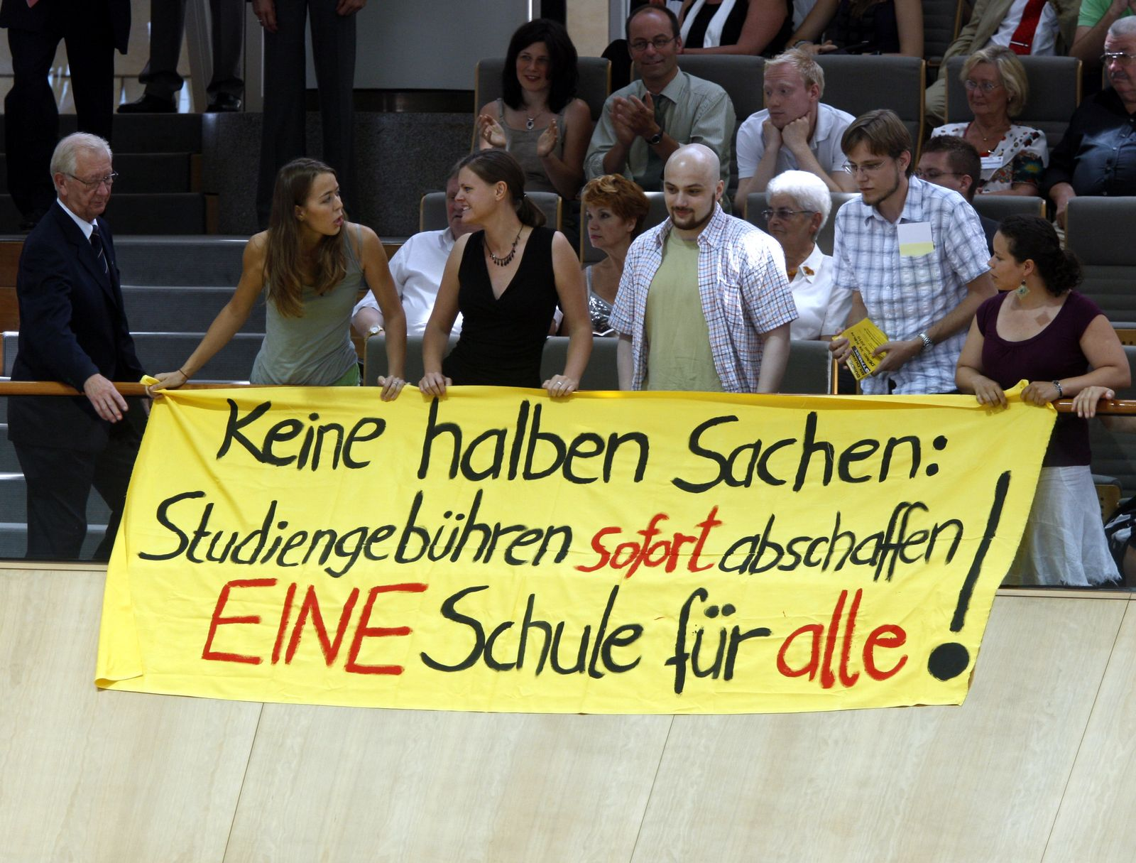 Ministerpräsidentin-Wahl NRW