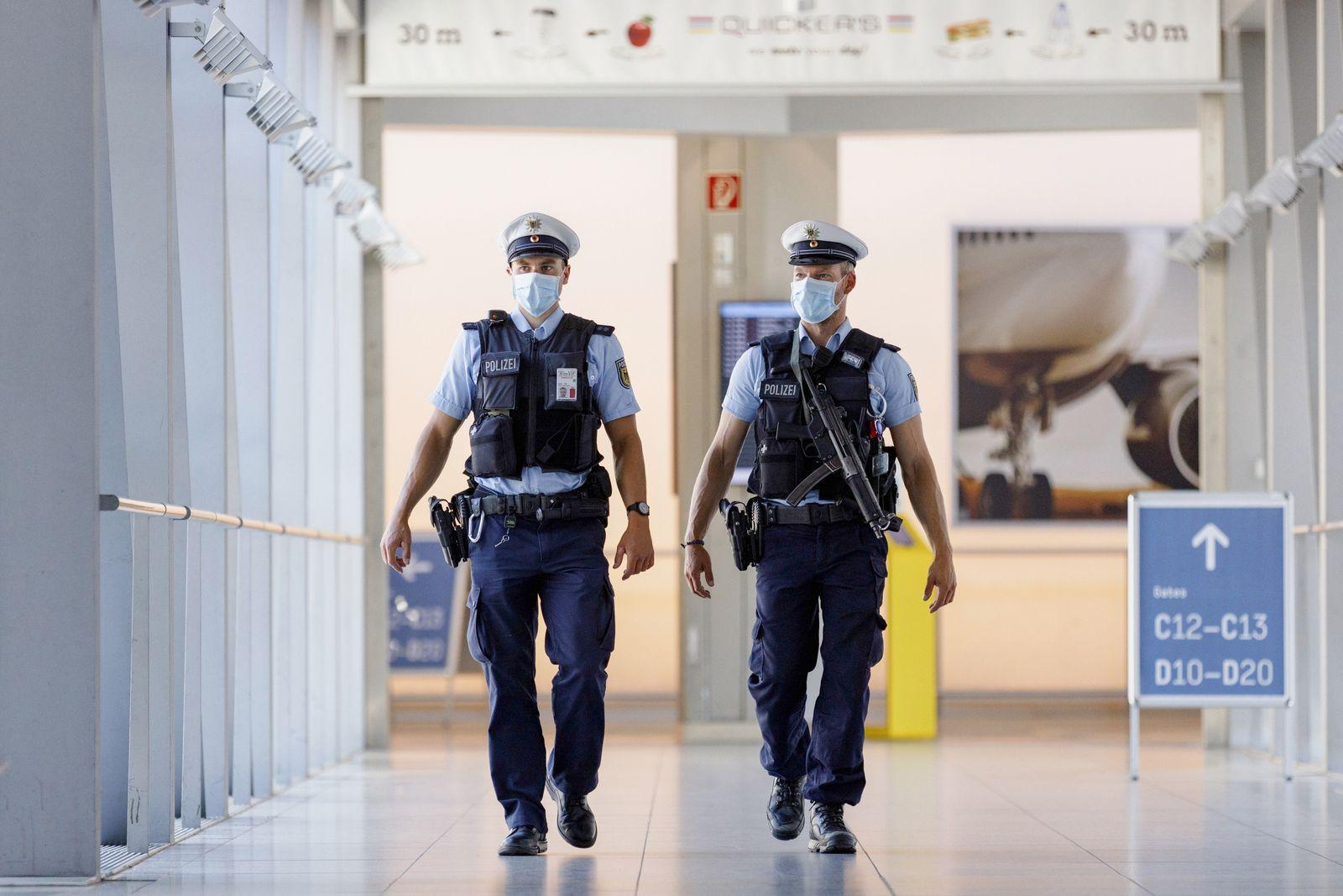 Vorstellung des Sicherheitskonzepts am Flughafen Köln Bonn