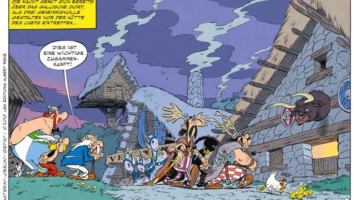 "Asterix 38: Gallien goes ""Maischberger"""