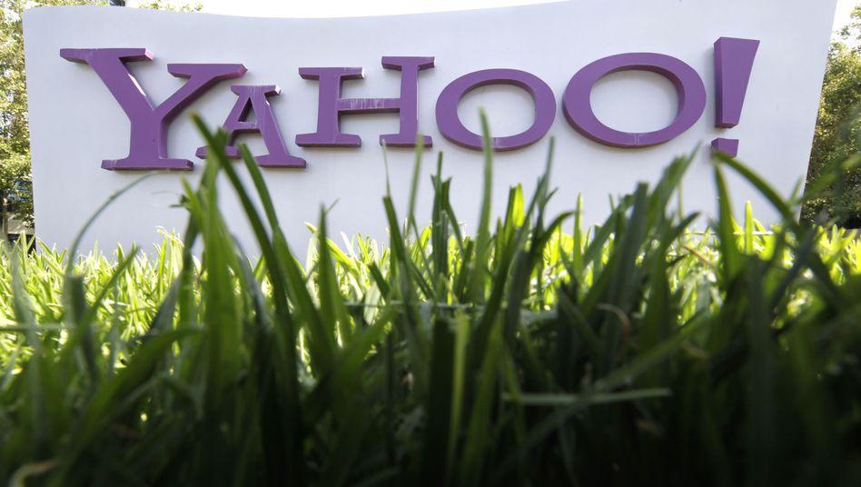 Yahoo-Schild in Santa Clara: Erst Thompsons Abgang machte die Einigung möglich