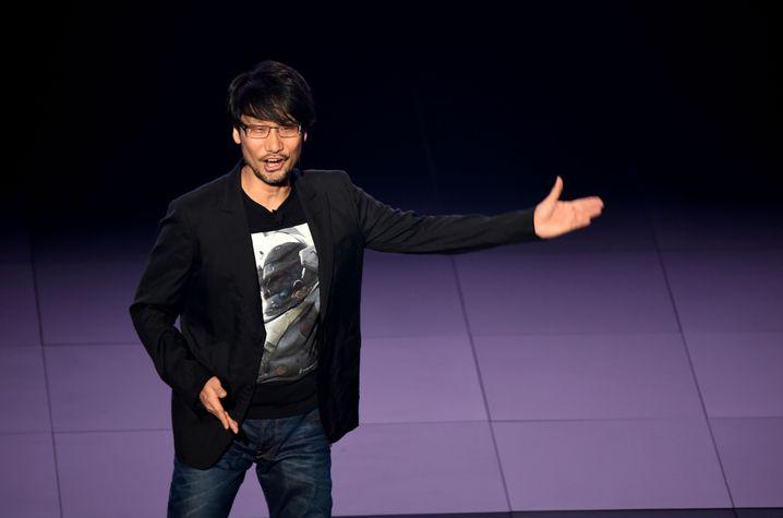 Game-Designer Hideo Kojima