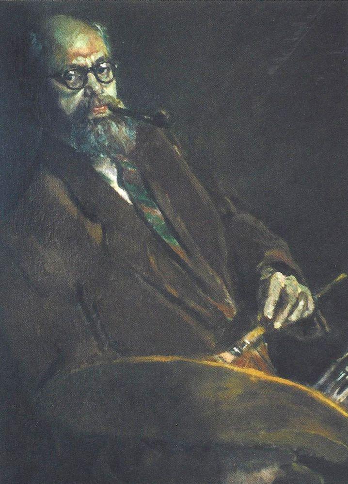 Leon Schönker, Selbstporträt