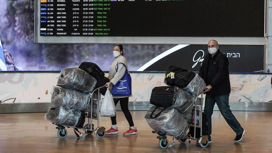 In Israel sollen nahezu alle Einreisende in Quarantäne gehen müssen