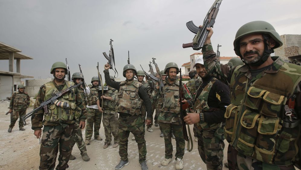 Photo Gallery: Hezbollah Charges into Syrian War