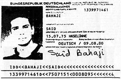 Durchs Raster gefallen: Der Ausweis des mutmasslichen Terroristen Said Bahaji