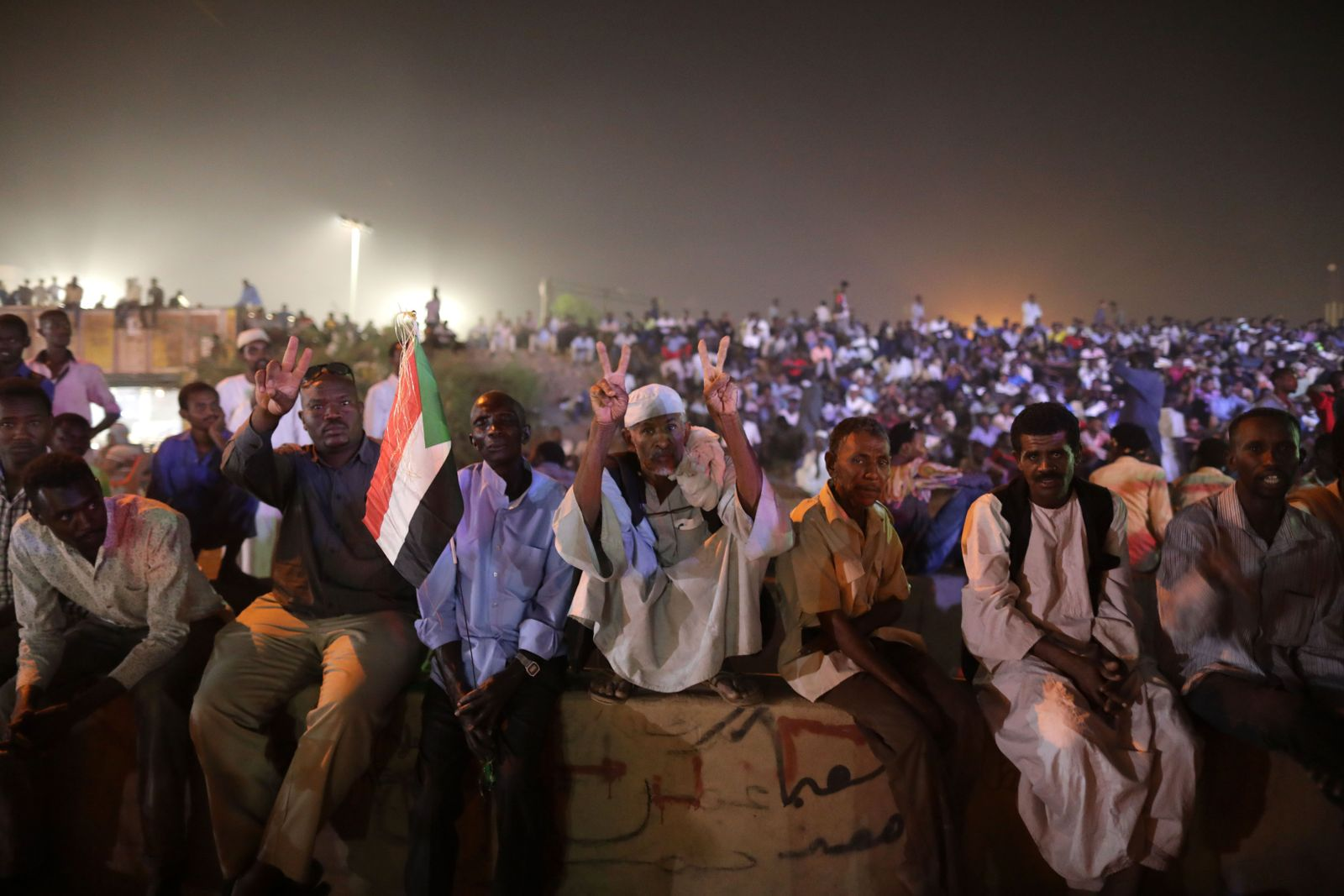 Sit In Sudan Khartum