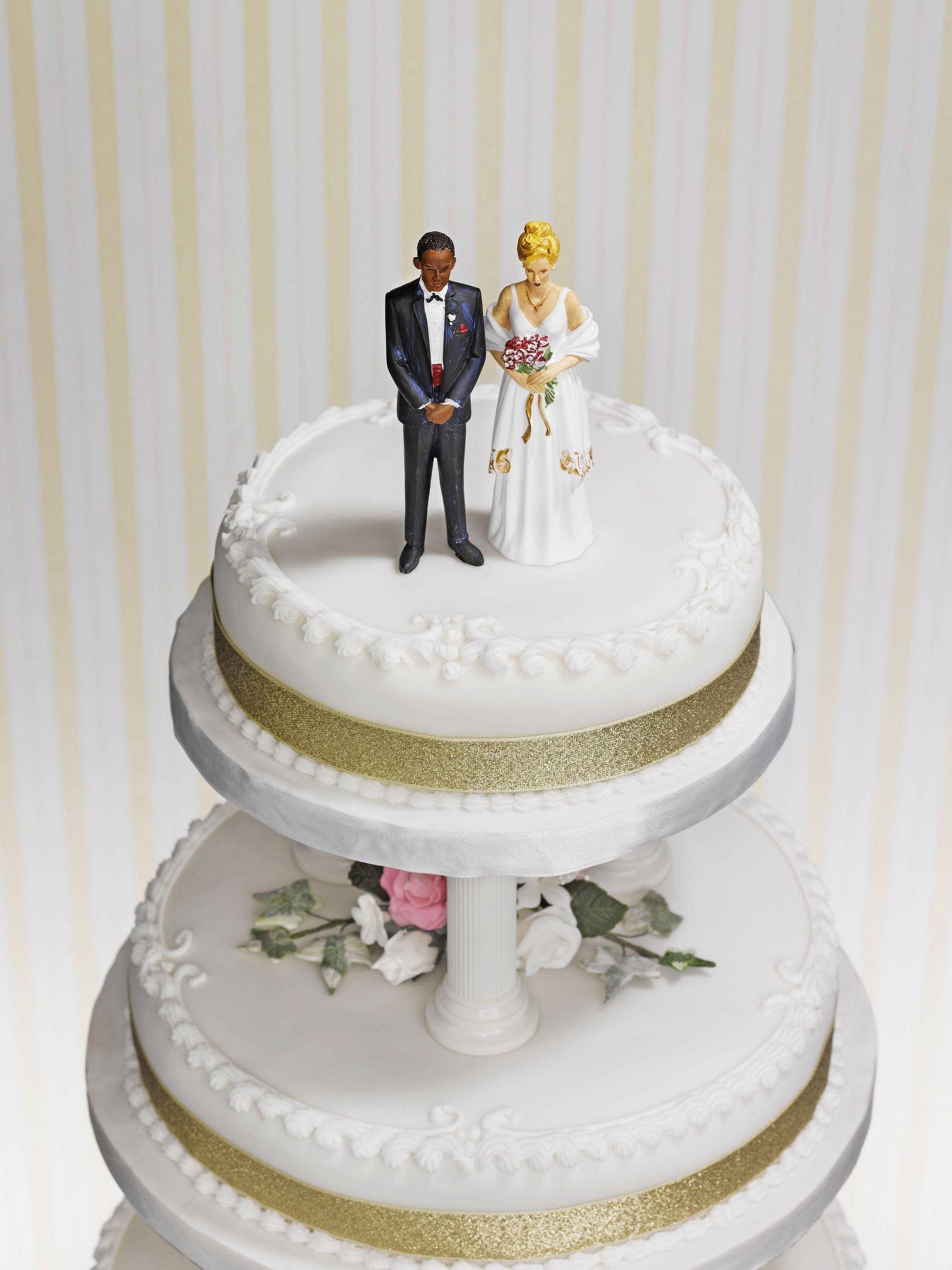 NICHT MEHR VERWENDEN! - Hochzeitstorte