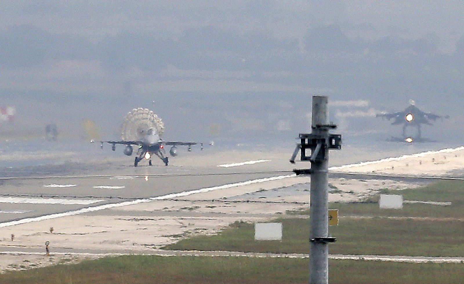 türkei luftwaffe syrien irak