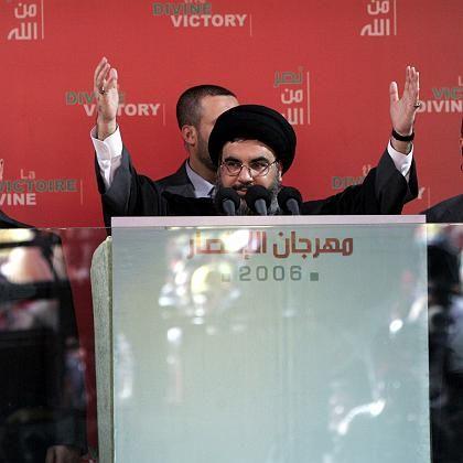 """Scheich Hassan Nasrallah: """"Wir sind stärker als je zuvor"""""""